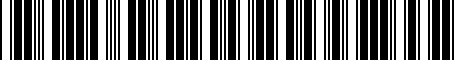 Barcode for 4E0051517A