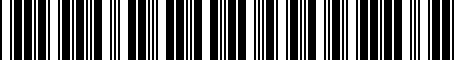 Barcode for 8R0063827F