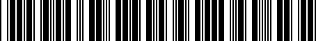 Barcode for 8S0051435G